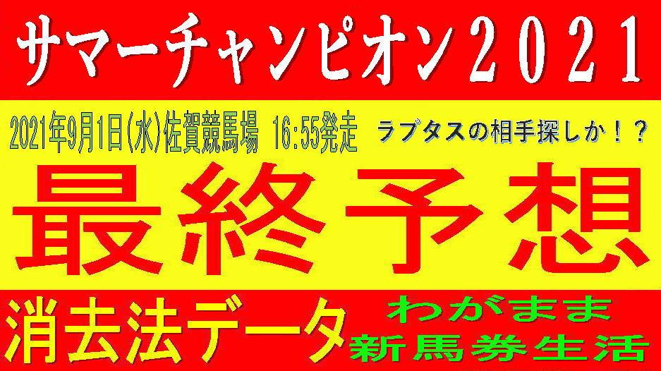 サマーチャンピオン2021(佐賀競馬)消去法予想|実績か、それとも勢いか