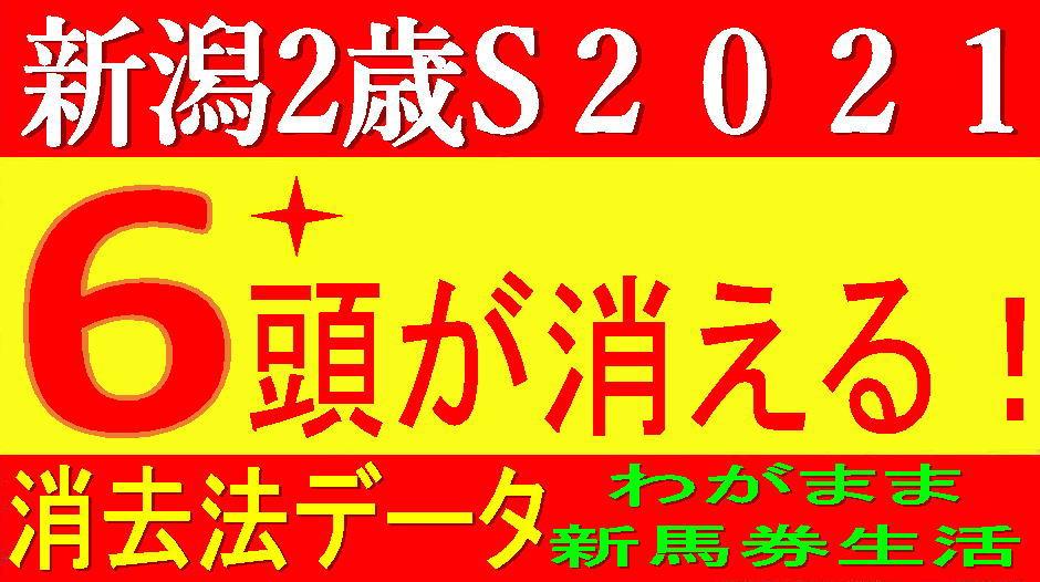 新潟2歳ステークス2021消去法データ(過去10年)|3強の構図ですが……