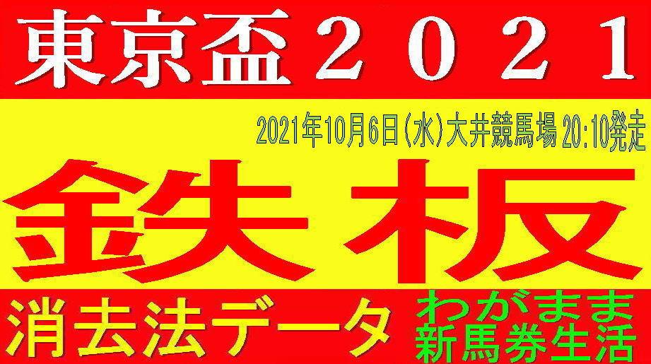 東京盃2021(大井競馬)消去法予想|高齢馬の活躍が目立つ交流重賞です