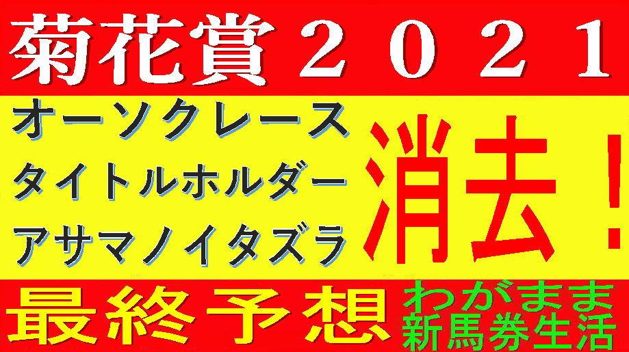 菊花賞2021競馬予想|異例のG1馬不在!混戦に断はアノ馬!